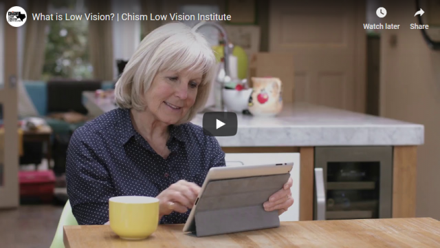 Screenshot 2019 04 06 What is Low Vision Chism Low Vision Institute   YouTube
